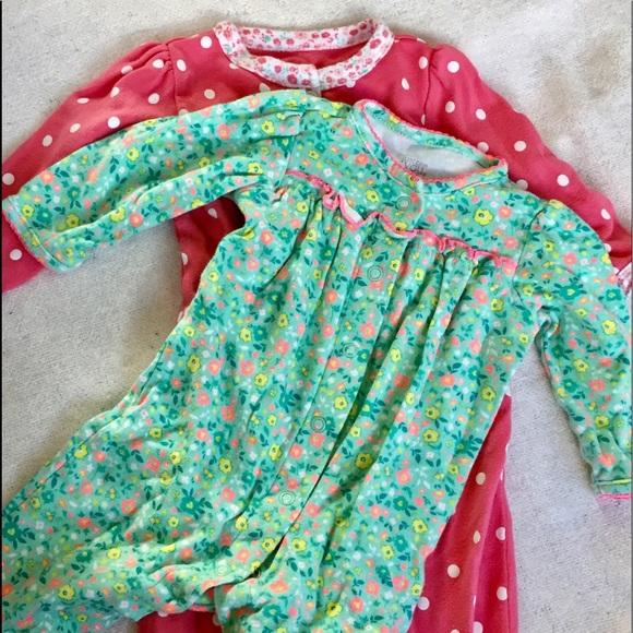 85c965e00f27 Carter's One Pieces | Carters Baby Girl Sleepers Set | Poshmark